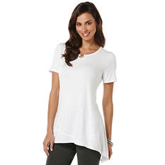 Rafaella Ladies Sharkbite Tunic Top