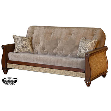 Simmons 174 Oceanside Futon Sleeper Sofa Sam S Club