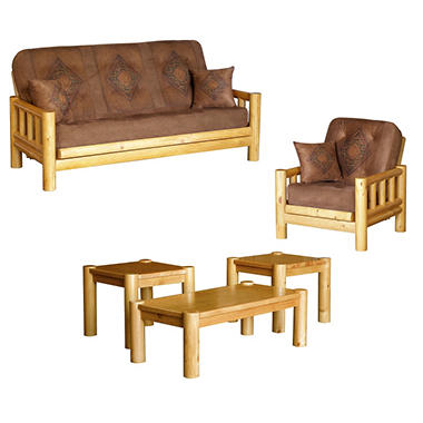 Simmons® Alpine Futon Sleeper Set - 5 pc.