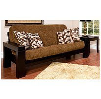 Wooden Sonoma Amp Remington Futon Sleeper Sofa From Sams Club Sleepers Sofas Seating Living Room