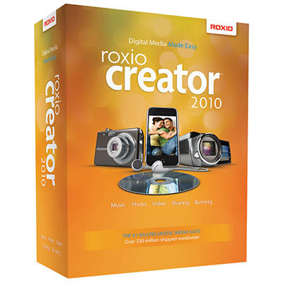 Roxio Creator 2010 Home Media Software