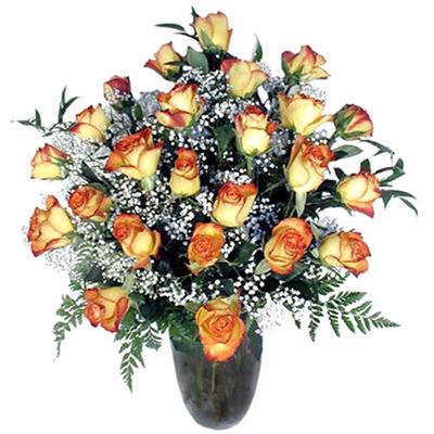 Rose Bouquet - Bi-Color - 2 Dozen
