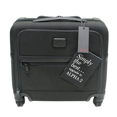 Tumi Alpha 2 Four-Wheeled Compact Brief  26624D2