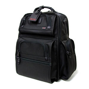 Tumi Alpha - T-Pass Business Class Brief Pack - Black