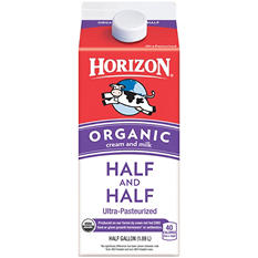 Horizon Organic Half & Half (half gallon)