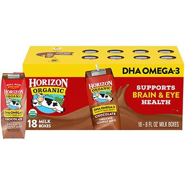 Horizon Organic Chocolate Milk - 8 oz. - 18 pk.