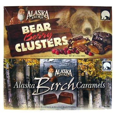 Alaska Jack's Gourmet Chocolates - 2 pk.