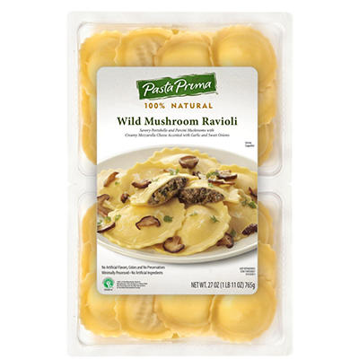 Pasta Prima Wild Mushroom Ravioli - 27 oz.