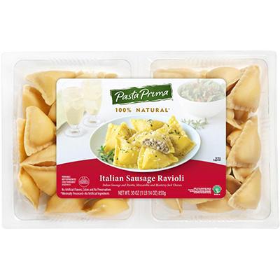 Pasta Prima Italian Sausage Ravioli - 30 oz.