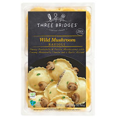 Three Bridges Wild Mushroom Ravioli (32 oz.)