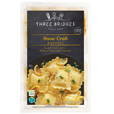 Three Bridges Snow Crab Ravioli (27 oz.)