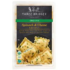 Three Bridges Organic Spinach and Cheese Ravioli (32 oz.)