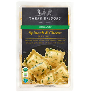 Three Bridges Organic Spinach and Cheese Ravioli (32 oz.)