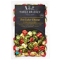 Three Bridges Tri-Color Cheese Tortellini (38 oz.)