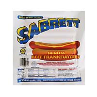 Sabrett Hot Dogs At Sams
