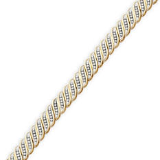 1.0 ct. t.w. Round Cut Diamond Bracelet - IGI Appraisal Value: $1,765