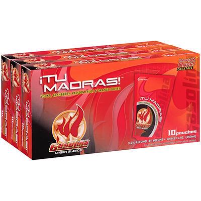 Gasolina Urban Blends Tu Madras! Cocktail - 6.8 fl. oz. - 10 ct. - 3 pk.