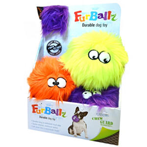 ChewGuard FurBallz Dog Toys (Choose Your Size)