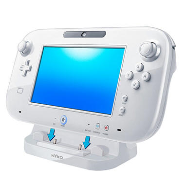 Nyko Power Stand-White for the Wii U