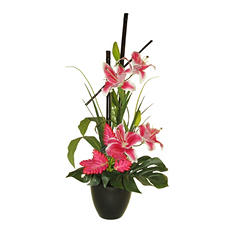 "32"" Tropical Lily Arrangement"