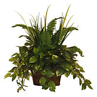 "24"" Faux Mixed Greenery Arrangement"