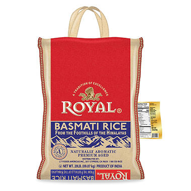 Royal® Basmati Rice - 20 lbs.