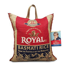 Royal Basmati White Rice (25 lbs.)