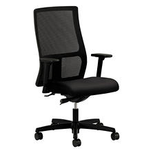 HON Ignition Series Mesh Mid-Back Work Chair, Black