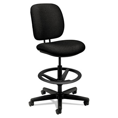 HON - ComforTask 5905 Swivel Task Stool - Black