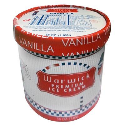 Warwick Vanilla Ice Cream (56 oz.)