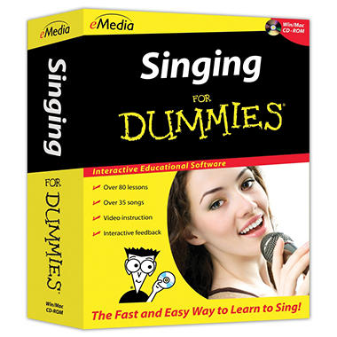 eMedia Singing for Dummies - PC/Mac