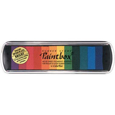 ColorBox Pigment Option Pad 12/Color - Bright