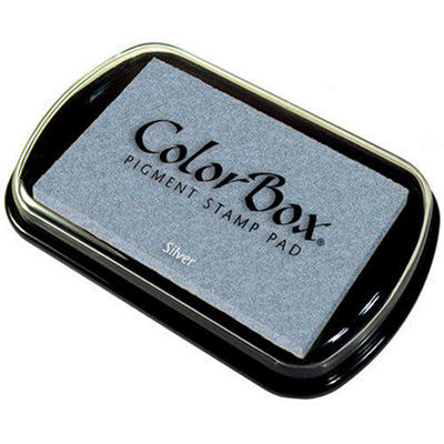 ColorBox Metallic Pigment Inkpad - Silver