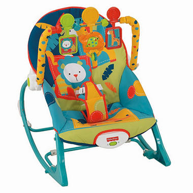 Fisher-Price Infant-to-Toddler Rocker, Safari