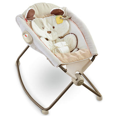 Fisher-Price Newborn Rock 'N Play Sleeper, Snugapuppy