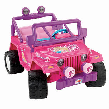 12v Barbie Jammin Jeep