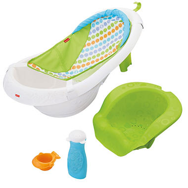 Fisher-Price 4-in-1 Grow-With-Me Tub