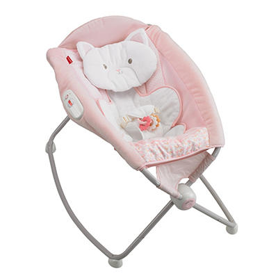 Fisher-Price My Little Snugakitty Deluxe Rock 'N' Play Sleeper