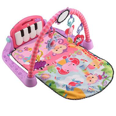 Fisher-Price Kick & Play Piano Gym, Pink