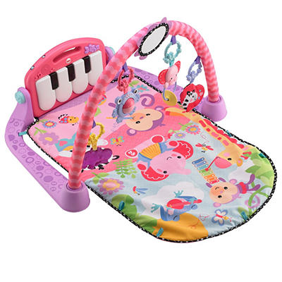 Fisher-Price Kick & Play Piano Gym, Pink