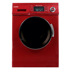 Galaxy 13 lb. Convertible Washer and Dryer Combo, Merlot