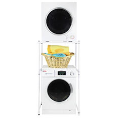 Galaxy Stackable Washer & Dryer Set - White