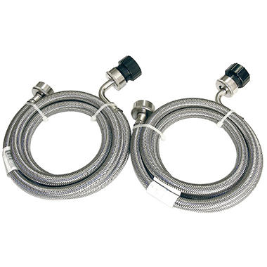washing machine hoses stainless steel