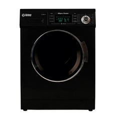 Galaxy Super Combo Washing Machine & Dryer, Black