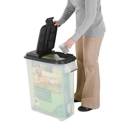 """Pet Food """"Bag In"""" Dispenser for 60 lbs. bags."""