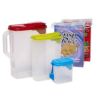 Buddeez� Cereal Dispenser Set - 8 pc.
