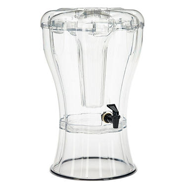Buddeez 3.5 Gallon Beverage Dispenser with Removable Ice Cone