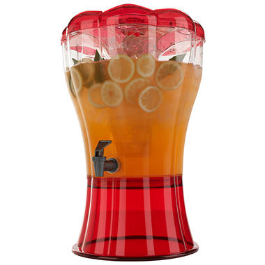 Buddeez Beverage Dispenser - Red - 3.5 gal.