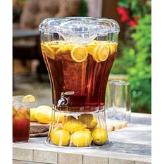Buddeez Unbreakable Tritan Beverage Dispenser w/ Ice Cone