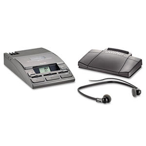 Desktop Analog Mini Cassette Transcriber Dictation
